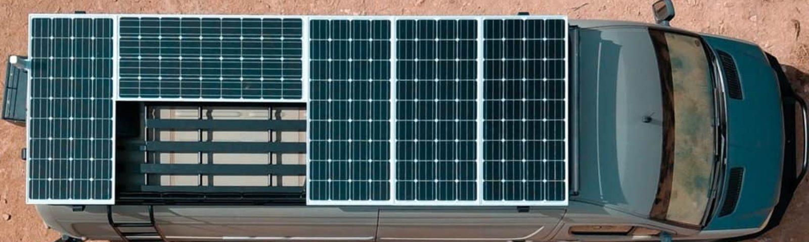 Instalación placas solares furgonetas camper