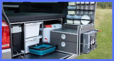 Mobiliario sin homologar Portcamper camperización furgonetas