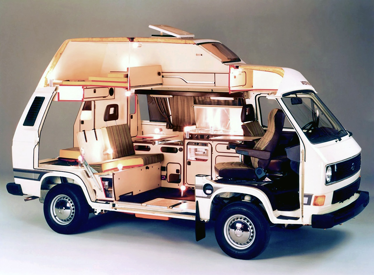 VW Westfalia techo rigido